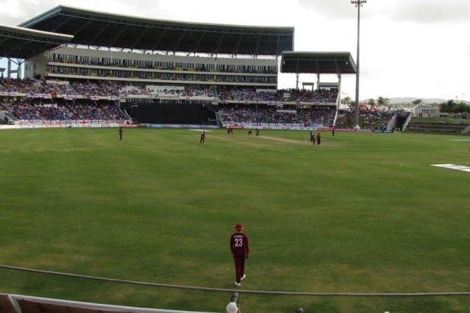 Le Sir Vivian Richards Stadium à Antigua © Facebook French West Indies Cricket