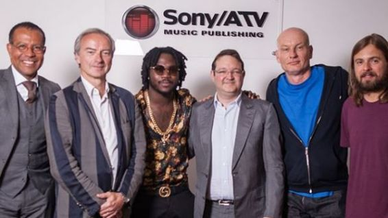 Jahyanaï chez Sony/ATV Music Publishing © Instagram Jahyanaï