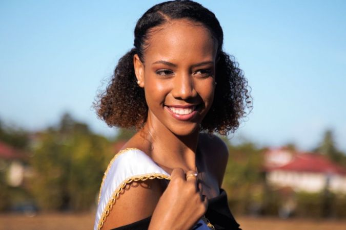Laureline Decocq Miss Guyane 2018 © Rodrigue Tisserand