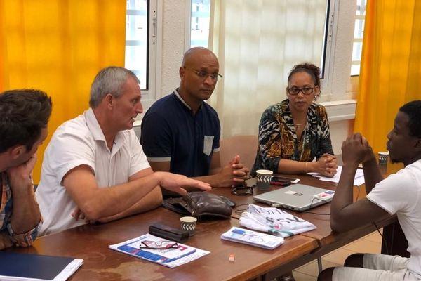 CCIG à l'écoute des porteurs de projets à saint-Laurent
