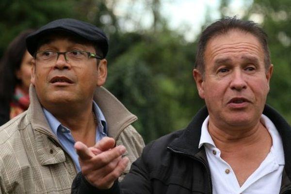 Jean-Charles Pitou et Michel Calmejane