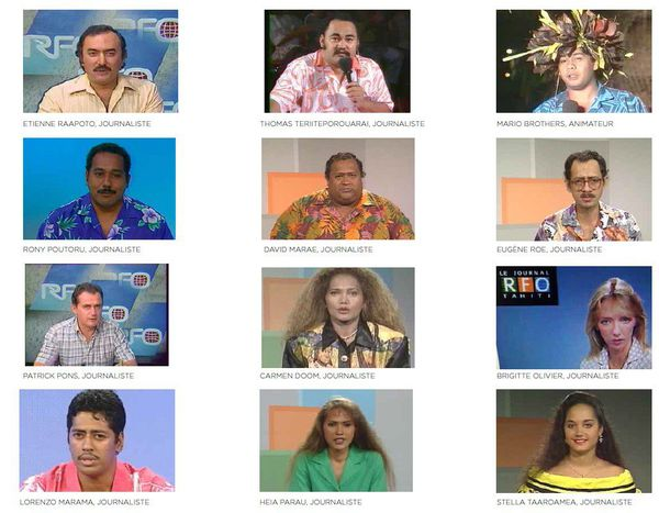 Polynésie 1ère fête les 50 ans de la télé en Polynésie