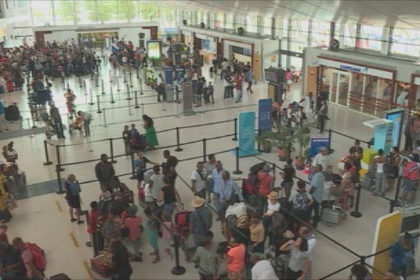 aéroport affluence