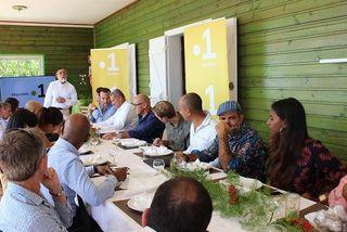 Conférence de presse de Réunion La1ère, mardi 4 septembre.