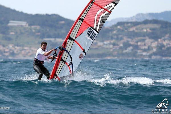 Amaury Lasiman (FRA 534), champion d'Europe juniors