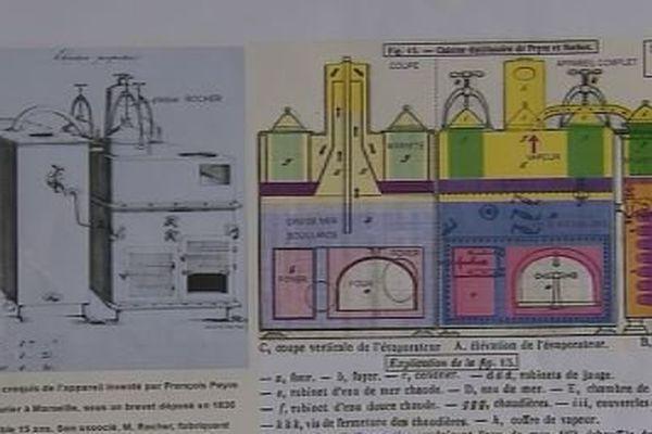 dessalinisateur 19è siècle schéma