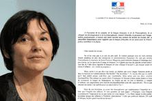 """Annick Girardin, la secrétaire d'Etat chargée du Développement et de la Francophonie, adresse ce mercredi une lettre ouverte """"au monde du travail""""."""