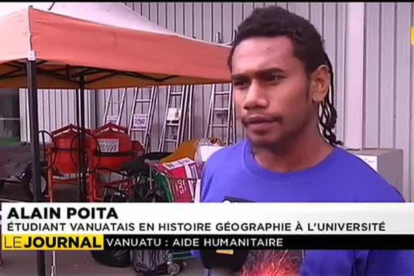 Vanuatu : les Calédoniens se mobilisent