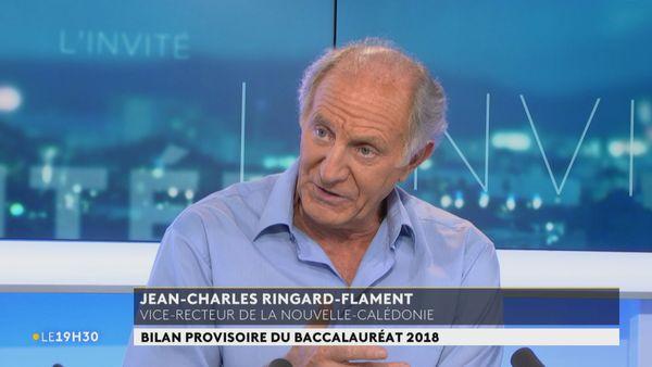 Résultats du Bac 2018, vice-recteur Jean-Charles Ringard-Flament