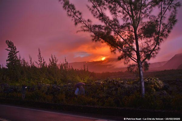 Eruption 10 février