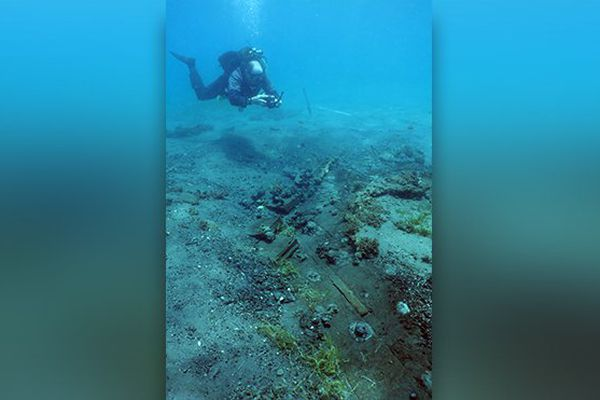 plongeur fouilles