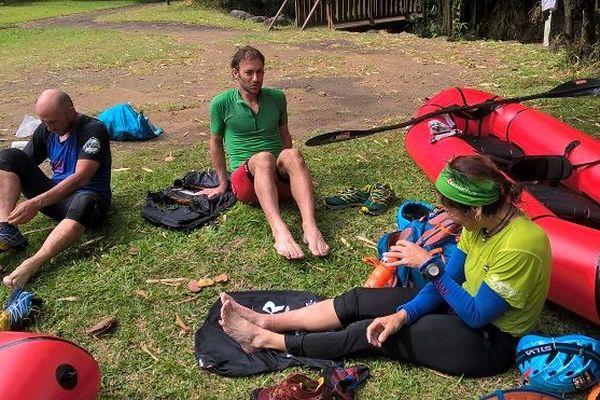 Le Raid Aventure pour la première fois dans les rivières de l'Est de La Réunion