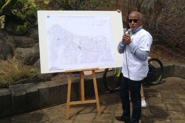 Présentation du plan vélo par Eric Médoc, directeur des mobilités à la mairie de Saint-Denis