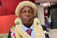 Abdou Rachadi a remercié ses partisans à l'annonce du résultat de l'élection.
