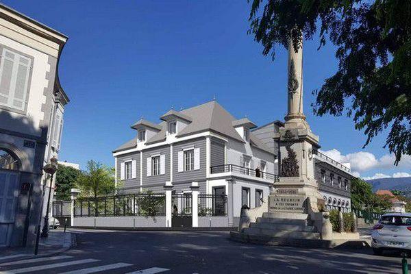 Villa Bénard Saint-Denis projet 170718