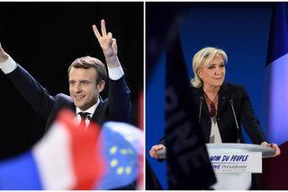 Emmanuel Macron et Marine Le Pen au second tour