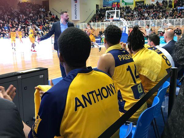 Anthony Andremont et Fabien Paschal sur le banc de l'ALM Evreux