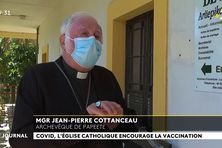 Mgr Cottanceau : « l'Eglise encourage la vaccination »