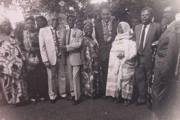Marcel Henry avec Younoussa Bamana, Henri Jean-Baptiste, Martial Henry, Adrien Giraud, Zaïna Méresse et Zéna Mdéré