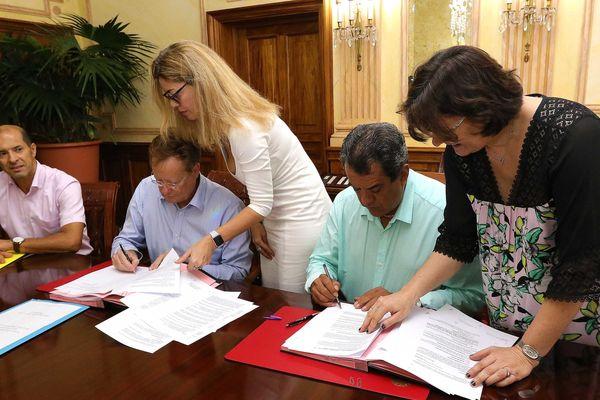 signature cession résidence Grand