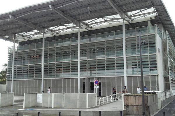 Le palais de justice de Fort de France