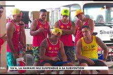 Hawaiki nui en suspend