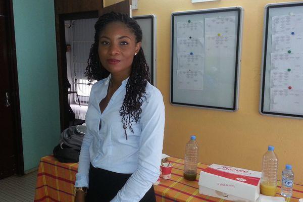 Naika Raqui, une étudiante en Master II Hygiène et sécurité en entreprise