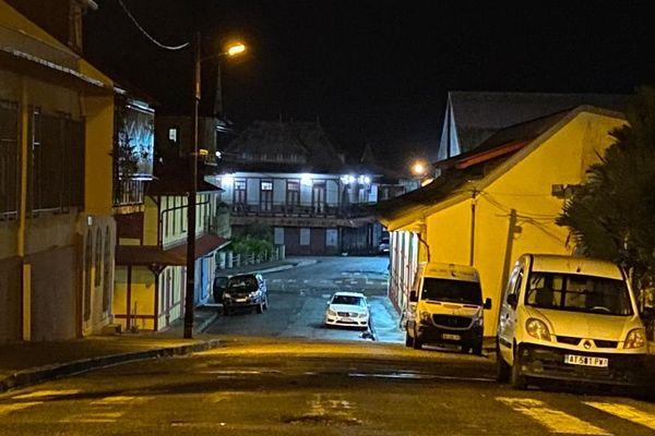 Rue Mentel à Cayenne