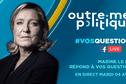 Outre-mer Politique : Marine Le Pen [REPLAY]