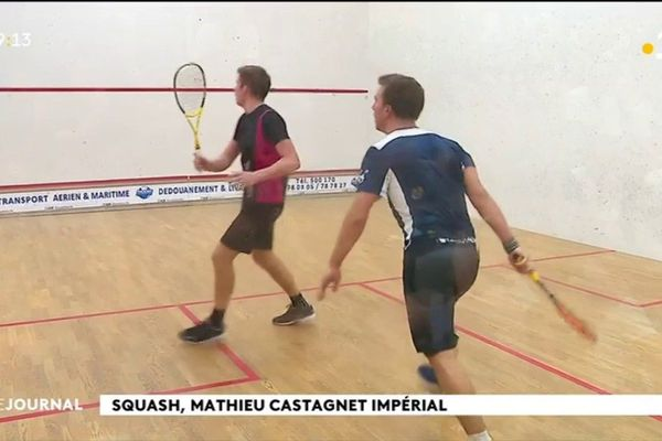 Tournoi de squash international à Phénix