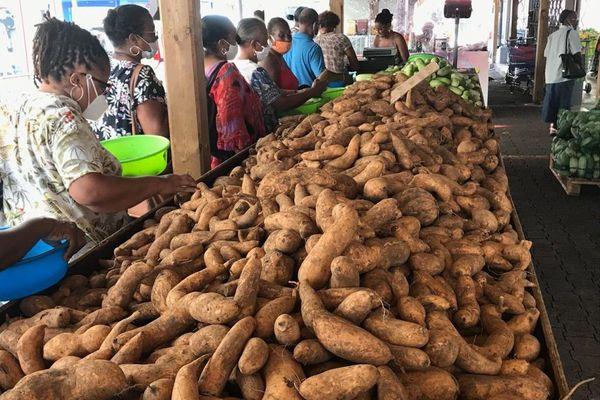 Foire à la patate douce marché de FdeF