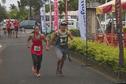 Guénaelle Rauby et Laurent Guerrero vainqueurs de la course de la Saint Valentin