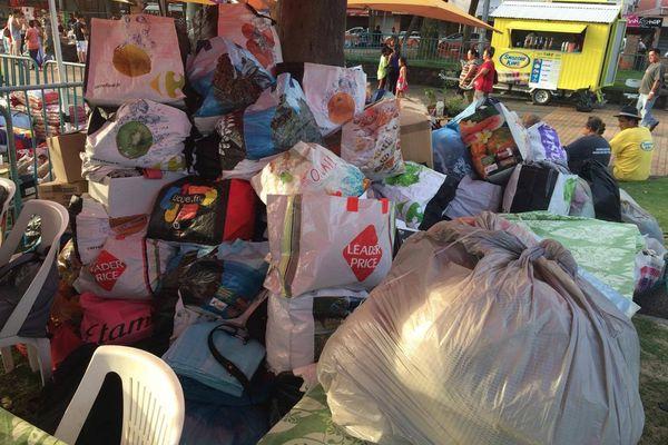 Nouméa : collecte de vêtements