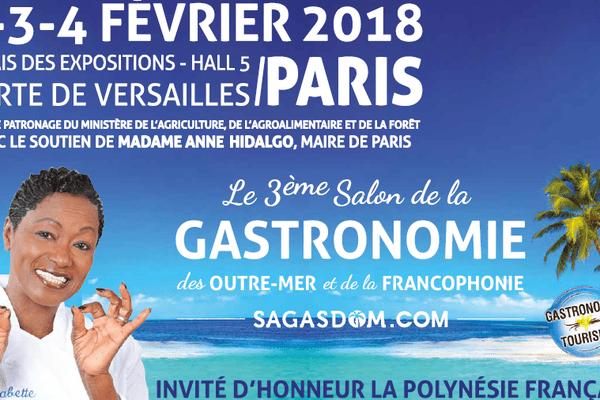3e salon de la gastronomie des Outre-mer