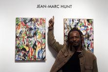 Jean-Marc Hunt à la 193Gallery à Paris, le 19 mai 2021.