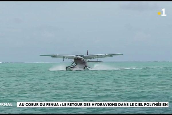 A la découverte de Bora Bora en hydravion