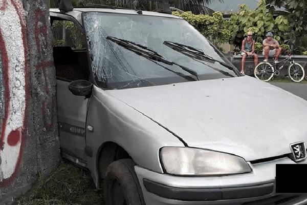 Accident à Mataiea