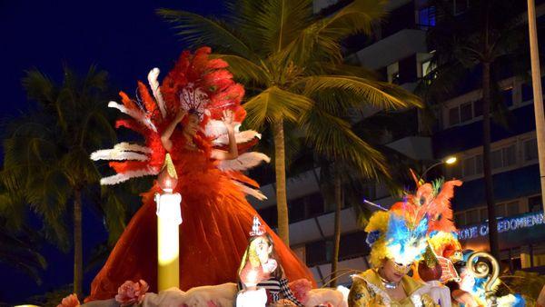 Carnaval 2017 char municipal et miss NC 16 septembre 2017