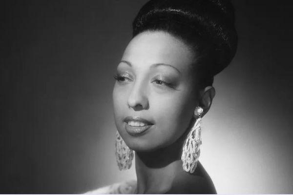 La chanteuse Joséphine Baker en 1939.