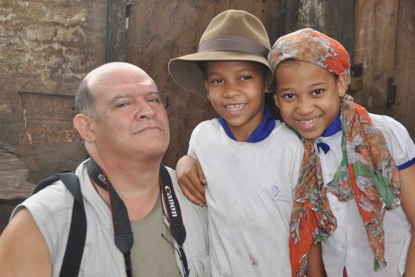 Joël et les enfants