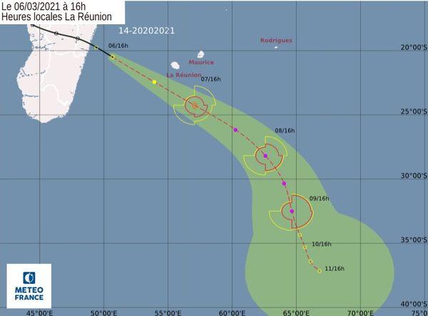 dépression tropicale n°14 météo tempête 060321