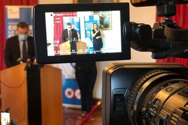 coronavirus covid conférence de presse préfet de La Réunion en préfecture 110920