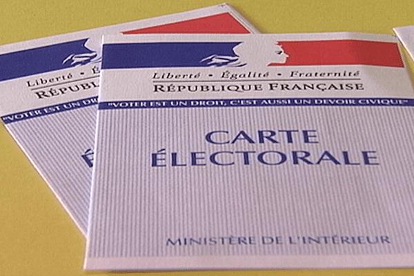 Carte d'électeur française