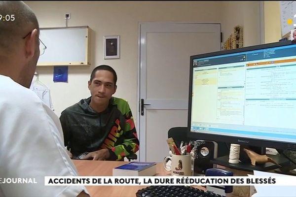 La moitié des patients du centre Te tiare victimes d'accidents de la route