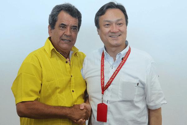 Entretien bilatéarl Polynésie - Japon