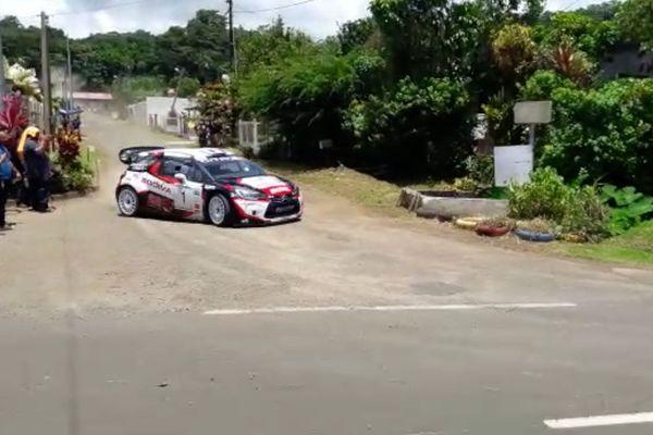 Automobile Martinique rallye Tour