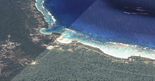 Lifou : tribu de Mou et ses plages