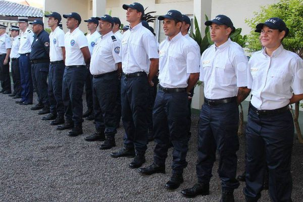 7 jeunes promus adjoints de sécurité