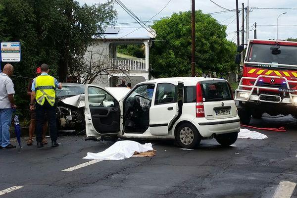 Accident grave à Vieux-Habitants