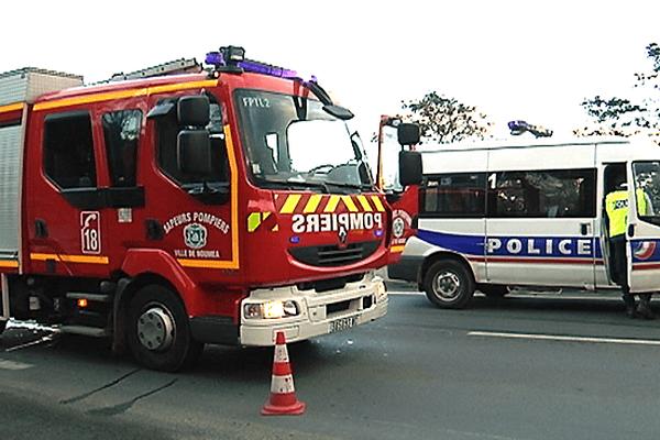 Pompiers et police